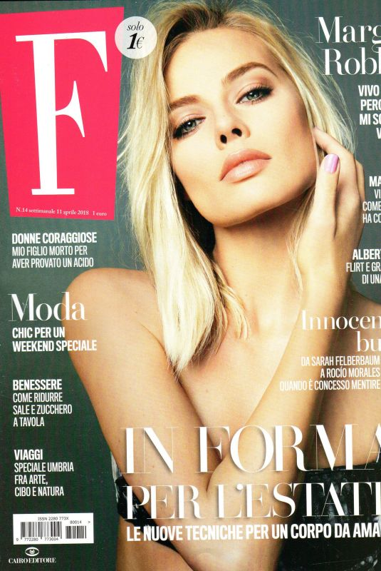 MARGOT ROBBIE in F Magazine, Italy April 2018