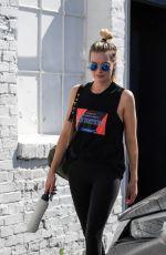 MARGOT ROBBIE Leaves a Gym in Los Angeles 04/17/2018