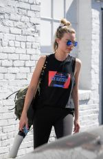 MARGOT ROBBIE Leaves a Gym in Los Angeles 04/17/2018