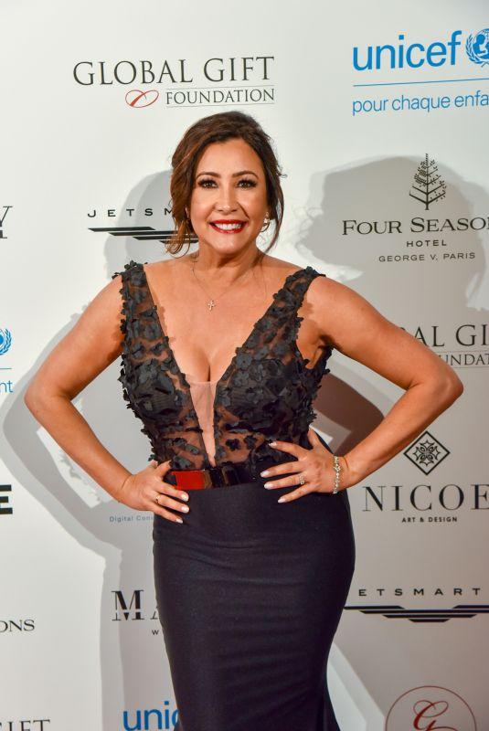 MARIA BRAVO at Global Gift Gala 2018 in Paris 04/25/2018