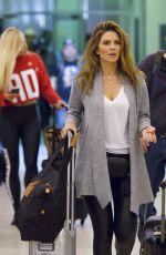 MARIA MENOUNOS at Louis Armstrong International Airport in Louisiana 04/05/2018