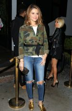 MARIA MENOUNOS at Poppy in Los Angeles 04/18/2018