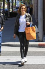 MARIA MENOUNOS Shopping at Louis Vuitton in Beverly Hills 04/18/2018