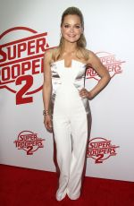 MARISA COUGHLAN at Super Troopers 2 Premiere in Hollywood 04/11/2018