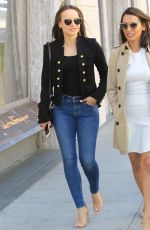 MARTHA HIGAREDA Out and About in Beverly Hills 04/18/2018