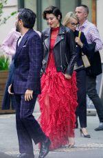 MARY ELIZABETH WINSTEAD and Ewan McGregor Leaves Their Hotel in New York 04/23/2018