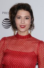 MARY ELIZABETH WINSTEAD at All About Nina Premiere at Tribeca Film Festival 04/22/2018