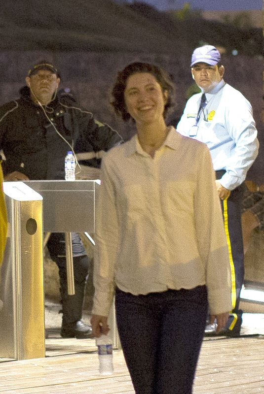 MARY ELIZABETH WINSTEAD on the Set of Gemini Man in Colombia 04/20/2018