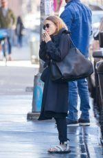 MARY KATE OLSEN Arrives at Her Office in New York 04/26/2018
