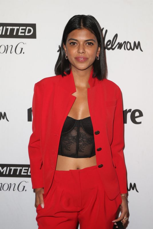 MEEKA HOSAIN at Marie Claire Fresh Faces Party in Los Angeles 04/27/2018