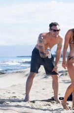 MEGAN FOX in Bikini on the Beach in Kailua-Kona 04/04/2018