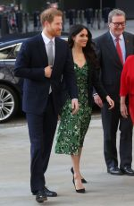 MEGHAN MARKLE and Prince Harry Arrives at Australia House in London 04/21/2018