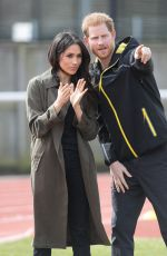 MEGHAN MARKLE and Prince Harry at UK Team Trials at Bath University 04/06/2018