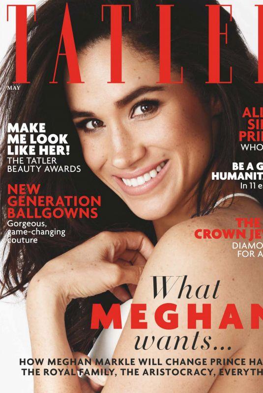 MEGHAN MARKLE in Tatler Magazine, May 2018