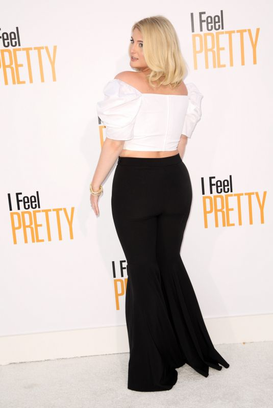 MEGHAN TRAINOR at I Feel Pretty Premiere in Los Angeles 04/17/2018