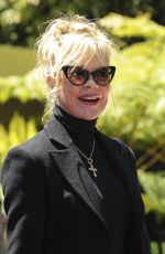 MELANIE GRIFFITH at Eva Longoria Hollywood Walk of Fame Ceremony in Los Angeles 04/16/2018