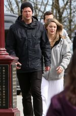 MELISSA BENOIST Out and About in Vancouver 04/17/2018