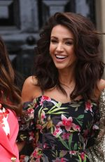 MICHELLE KEEGAN at Launches Her very.co.uk Summer Collection in London 04/24/2018