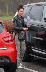 MICHELLE KEEGAN Heading to a Gym in Manchester 04/03/2018