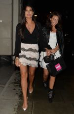 MICHELLE KEGAN and JESSOCA WRIGHT at Novikov Restaurant in London 04/24/2018