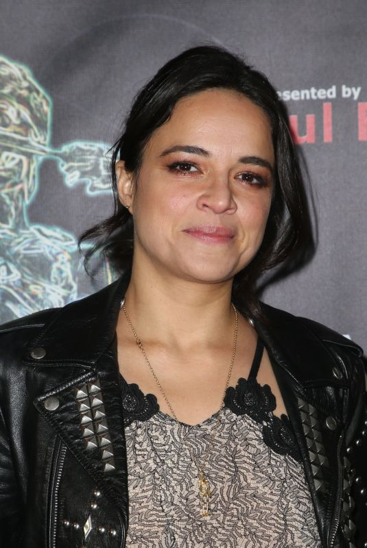 MICHELLE RODRIGUEZ at Artemis Women in Action Festival in Beverly Hlls 04/26/2018