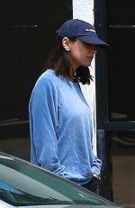 MILA KUNIS and Ashton Kutcher Leaves Joans on Third in Studio City 04/19/2018