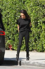 MILA KUNIS Out and About in Los Angeles 04/06/2018