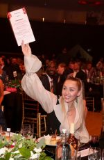 MILEY CYRUS at My Friend's Place 30th Anniversary Gala in Los Angeles 04/07/2018