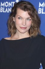 MILLA JOVOVIC at Montblanc Celebrates 75th Anniversary of Le Petit Prince in New York 04/04/2018