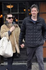 MILLA JOVOVICH and Paul W. S. Anderson Leaves Bowery Hotel in New York 04/04/2018