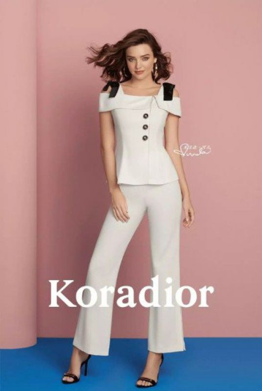 MIRANDA KERR for Koradior Campaign 2018 Photoshoot