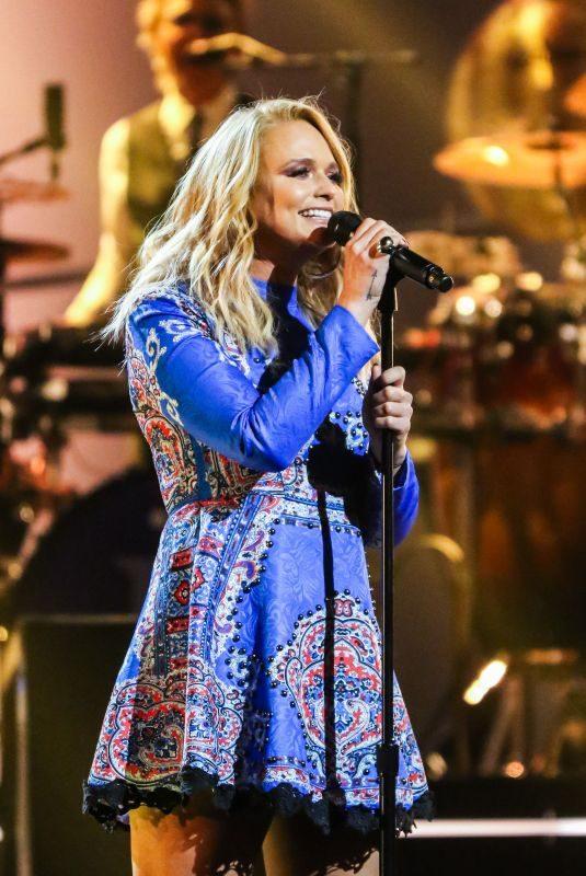 MIRANDA LAMBERT at Elton John: I'm Still Standing – A Grammy Salute Concert in New York 03/30/2018