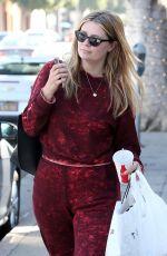 MISCHA BARTON at a Local Restaurant in Beverly Hills 04/25/2018