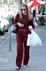MISCHA BARTON at a Local Restaurant in Beverly Hills 04/25/2018