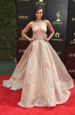 MISHAEL MORGAN at Daytime Emmy Awards 2018 in Los Angeles 04/29/2018