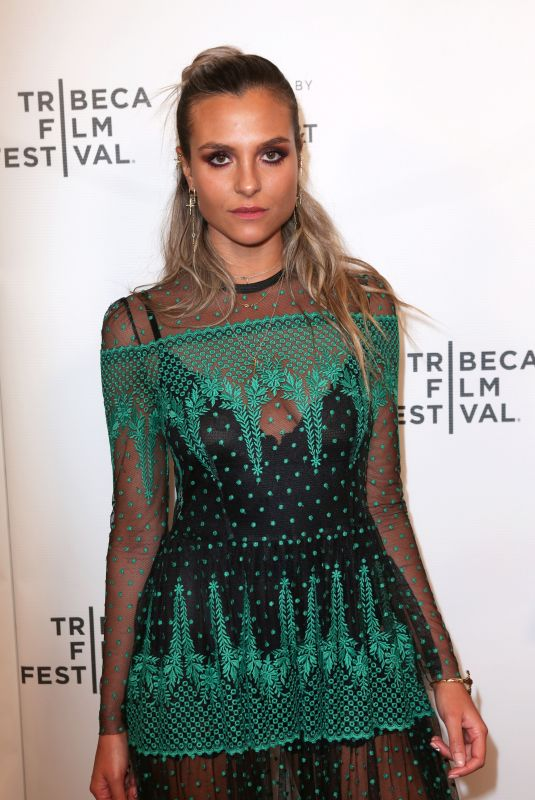 MITZI PEIRONE at Braid Premiere at Tribeca Film Festival in New York 04/22/2018