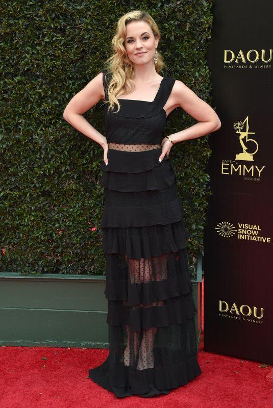 MOLLY BURNETT at Daytime Emmy Awards 2018 in Los Angeles 04/29/2018