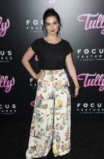 MOLLY EPHRAIM at Tully Premiere in Los Angeles 04/18/2018