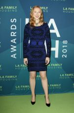 MOLLY QUINN at LA Family Housing Event Awards in Los Angeles 04/05/2018
