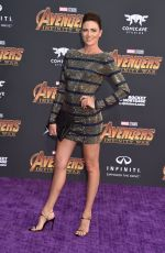 MONIQUE GANDERTON at Avengers: Infinity War Premiere in Los Angeles 04/23/2018