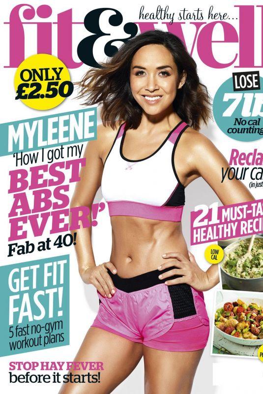 MYLEENE KLASS in Fit & Well Magazine, April/May 2018