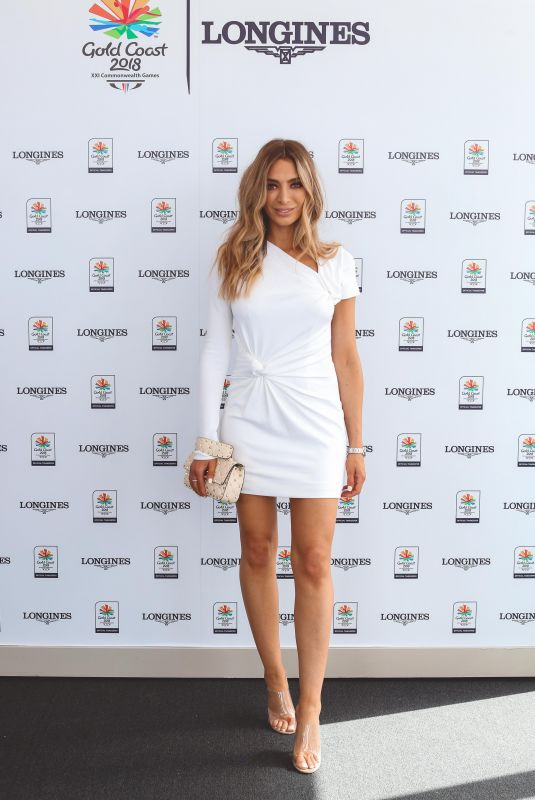 NADIA BARTEL at Longines Records Club Luncheon in Gold Coast 04/10/2018