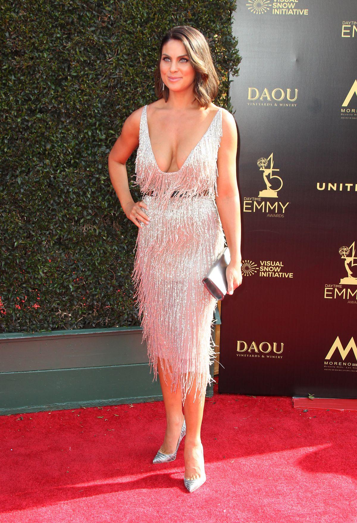 NADIA BJORLIN at Daytime Emmy Awards 2018 in Los Angeles ... Emmy Awards 2018