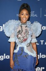 NAFESSA WILLIAMS at Glaad Media Awards Rising Stars Luncheon in Beverly Hills 04/11/2018
