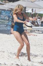 NAOMI WATTS in Swimsuit on the Beach in Tulum 04/05/2018