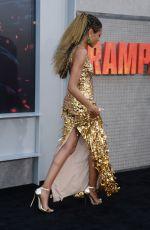 NAOMIE HARRIS at Rampage Premiere in Los Angeles 04/04/2018
