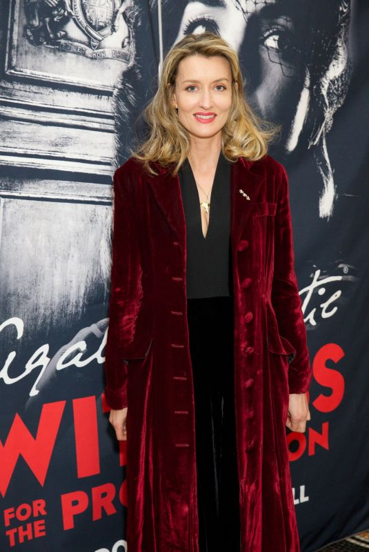 NATASCHA MCELHONE at Witness for the Prosecution by Agatha Christie Play in London 04/25/2018