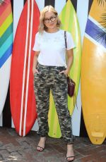 NATASHA BURE at Henri Bendel Surf Sport Collection Launch in Los Angeles 04/27/2018