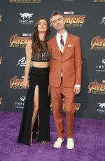 NATASHA HALEVI at Avengers: Infinity War Premiere in Los Angeles 04/23/2018