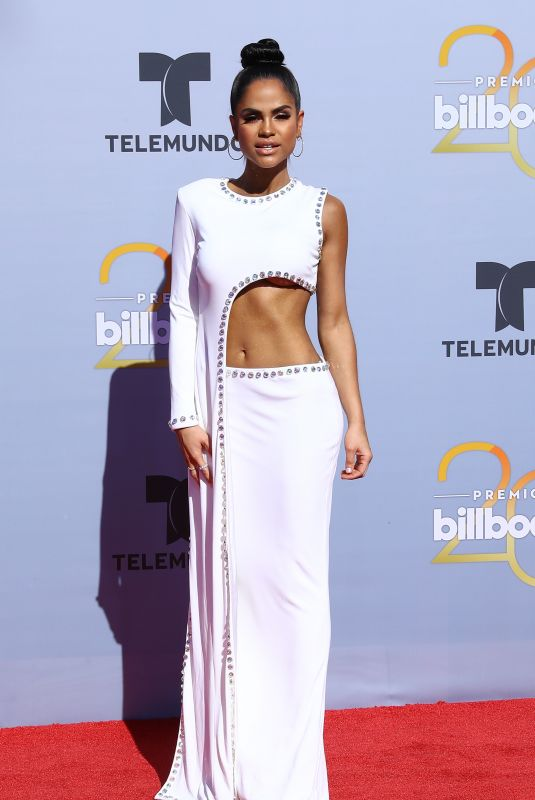 NATTI NATASHA at Billboard Latin Music Awards in Las Vegas 04/26/2018